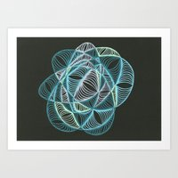 Small Nebula Two Art Print