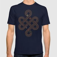 Endless Creativity Mens Fitted Tee Navy SMALL