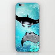 Manta Rays iPhone & iPod Skin