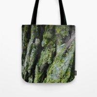 Moss, Bark Tote Bag