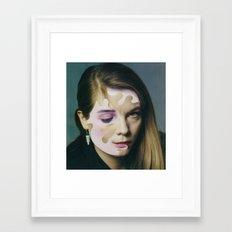 Vanishing Theresa Framed Art Print