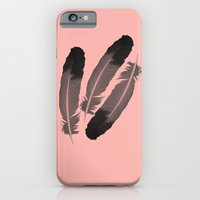 Pink & Feather iPhone 6 Slim Case