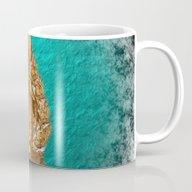 Golden Buddha In Blue Pa… Mug
