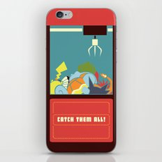 Claw Machine iPhone & iPod Skin