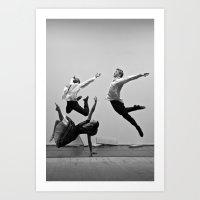 Bodyvox Two Art Print