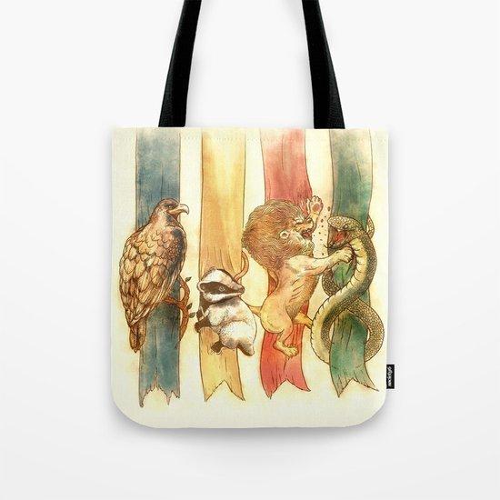 House Brawl Tote Bag