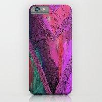 Purple Chevron iPhone 6 Slim Case