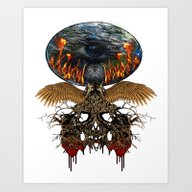 Planet Lives The Fear Art Print