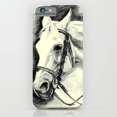 Horse-portrait iPhone 6s Slim Case