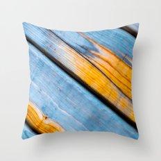 Swedish Log House Throw Pillow