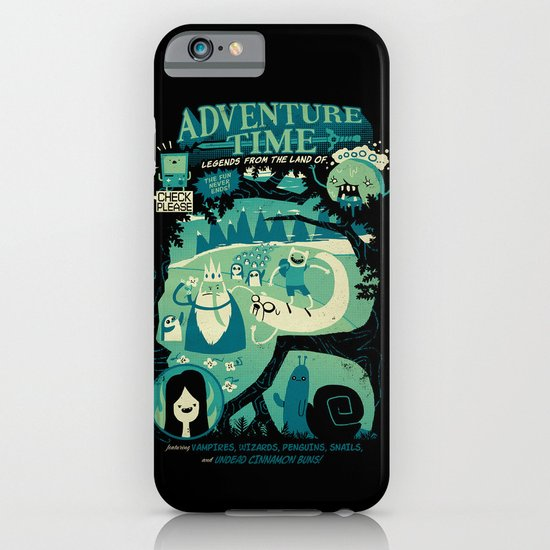 Legends from the Land of Ooo iPhone & iPod Case