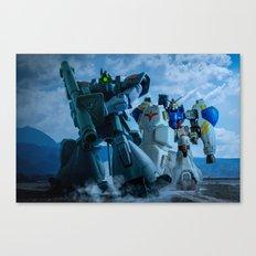 ESCORTING GP02 Canvas Print