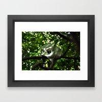 Iron Mask Framed Art Print