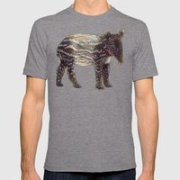 Tapir Mens Fitted Tee Tri-Grey SMALL