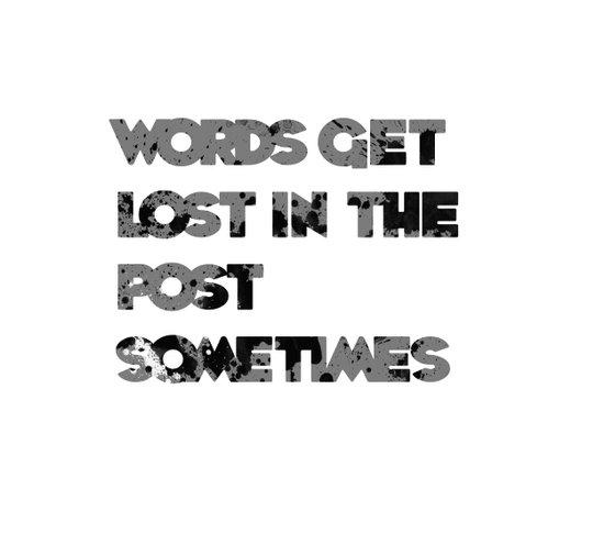 words. Art Print