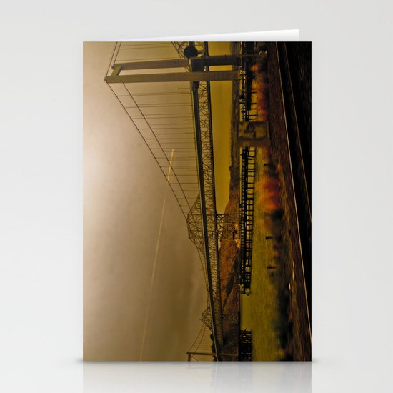 Industrial End Stationery Card