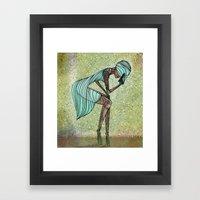 Lethal Woman Framed Art Print