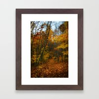 Foliage. Framed Art Print