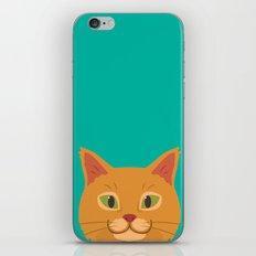 Peeking Cat iPhone & iPod Skin