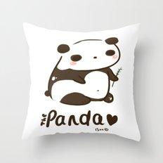 Panda Panda Throw Pillow