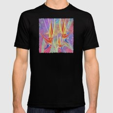 Paradise Mens Fitted Tee Black SMALL