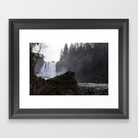 Found Beauty Framed Art Print