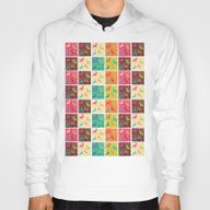 Christmas Square Pattern… Hoody