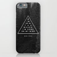 iPhone & iPod Case featuring Woods -- Bon Iver by Zeke Tucker