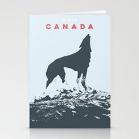 Visit Canada Stationery Cards