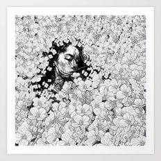 interrompere Art Print