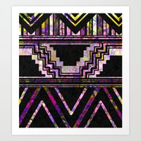native american Art Prints featuring Native American by Ben Geiger