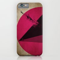 iPhone & iPod Case featuring TETHRAEDON SUNSET by Resistenza