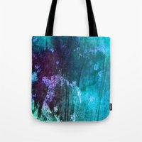 Blue Stems Tote Bag