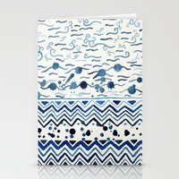 Wet Pattern 006 Stationery Cards