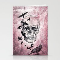 The Crows of Death Stationery Cards