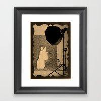 楽屋 Framed Art Print