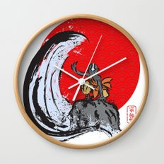 Aang in the Avatar State Wall Clock