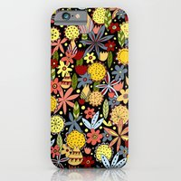iPhone & iPod Case featuring september flowers by Asja Boros