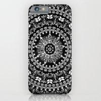 Licorice Mandala iPhone 6 Slim Case