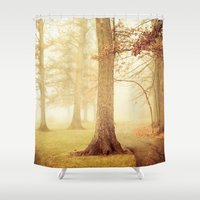 I Heard Whispering In Th… Shower Curtain