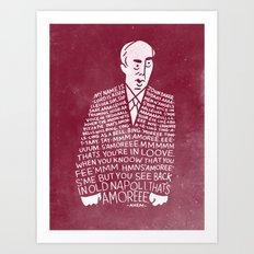 My Name is John Daker Art Print
