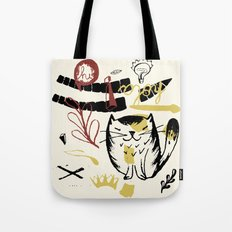 Le Chat Tote Bag