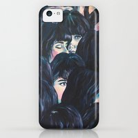 iPhone 5c Cases featuring What are you seeing? by Katty Huertas