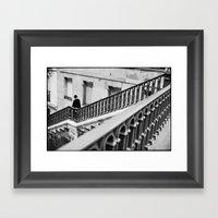 Man With Hat, Poissonier… Framed Art Print