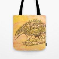Pangolin Sun Tote Bag
