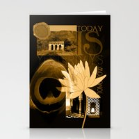 Today is Yesterday's Tomorrow... Stationery Cards