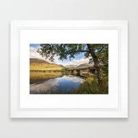 Railway Viaduct Over Riv… Framed Art Print