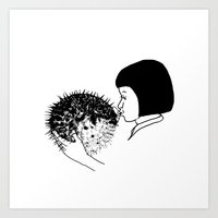 Fugu Art Print