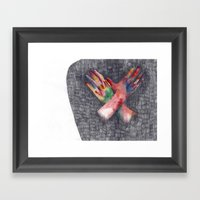 Hands #4 Framed Art Print