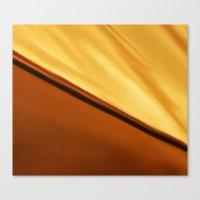 desert and sun Canvas Print